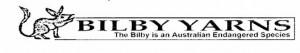 Bilby Yarns Logo